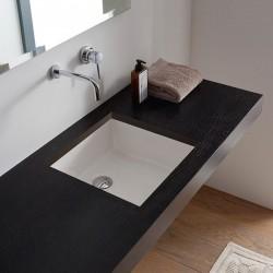 Правоъгълна мивка за вграждане - в компактен размер
