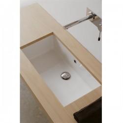 Мивка за баня за вграждане - корито среден размер