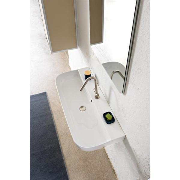 Mакси мивка за плот или стена Glam (Scarabeo)