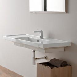 Мивка за баня с два плота