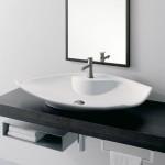 Мивка за баня луксозен дизайн - за плот