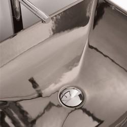 Мивка за баня финитура платинен блясък