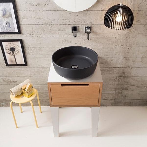 Мивка за баня тип кръгла тавичка