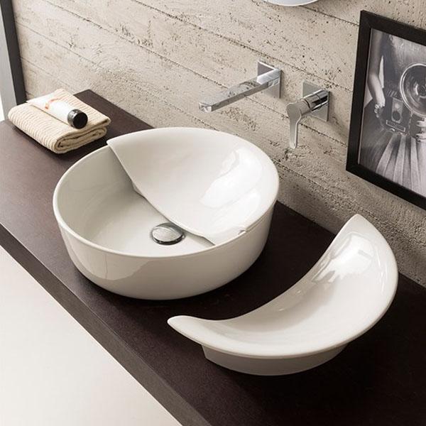 Дизайнерски капак за за кръгла мивка Mizu