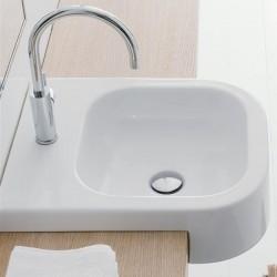 Умивалник за баня за вграждане в плот или мебел за баня