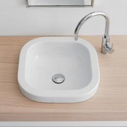 Малка мивка за поставяне върху плот