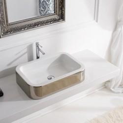 Модел мивка за поставяне върху плот