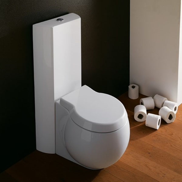 Казанче за тоалетна двуфункционално