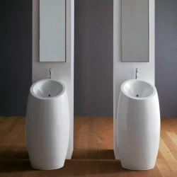 Стояща мивка за баня в изящен дизайн