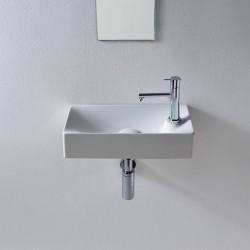 Луксозна мивка за баня със страничен плот