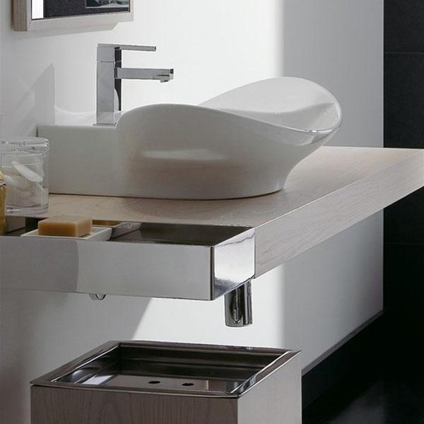 Лодкообразна мивка с плот