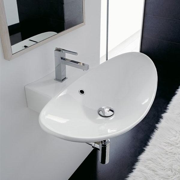 Мивка за баня в авангарден дизайн