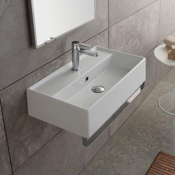 Стенен умивалник за баня в италиански дизайн