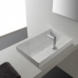 Умивалник за баня в правоъгълна форма
