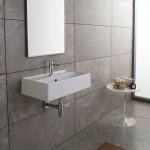 Мини мивка за баня Teorema за стенен монтаж