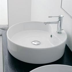 Мивка за баня за стена - елегантен кръгъл дизайн