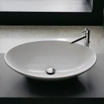 Мивка за баня тип овална купа