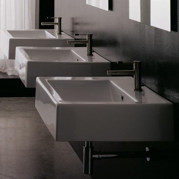 Мивка за баня - светъл отвор квадрат
