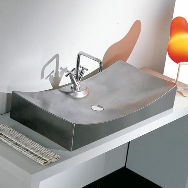 Мивка за баня с уникален дизайн на светлия отвор