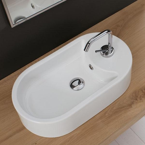 Винтидж мивка за баня в среден размер