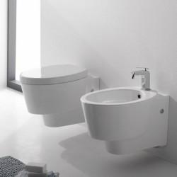 Окачена тоалетна чиния в уникален дизайн