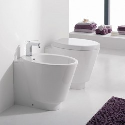 Стояща тоалетна чиния в уникален дизайн