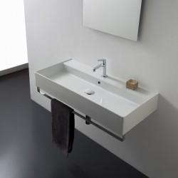 Дълга мивка за баня Teorema 2.0 – с един отвор за смесител