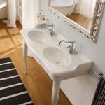 Двойна мивка за плот или стена – Castellana