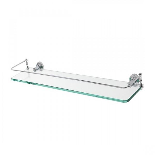 Стъклена полица за баня – серия Castellana