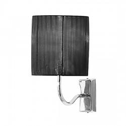 Черен стенен апликоатор – Castellana