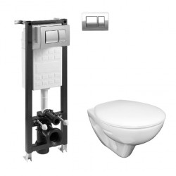 Комплект оферта структура за вграждане Eco Compact + окачена тоалетна Mira