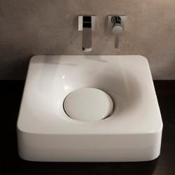 Умивалник  6001 в бяло на Scarabeo/ Колекция мивки FUJI