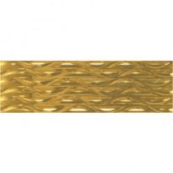 Glaciar Gold Wave – златисти плочки за баня