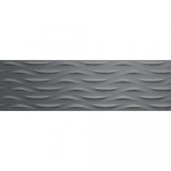 Glaciar Silver Wave – сребристи стенни плочки за баня