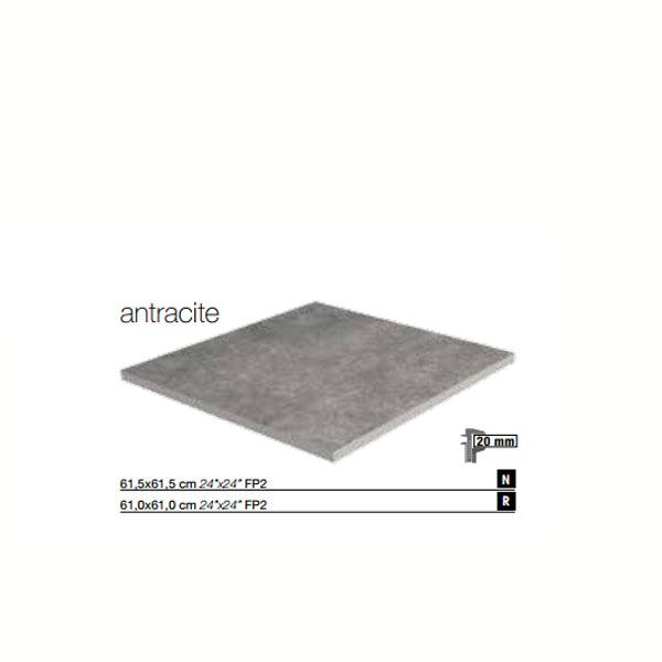 Гранитогресни плочки FP2 Antracite / Technika