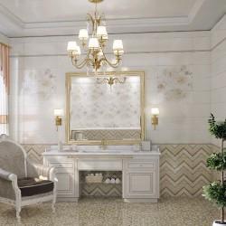 Плочки за баня/ Колекция Lollipop Zigzag Antracid модерни плочки за баня от MAPISA