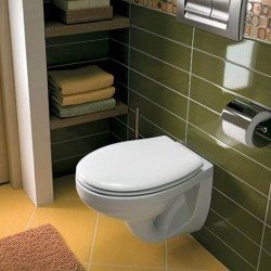 Бяла тоалетна чиния - висяща/ Колекция Idol