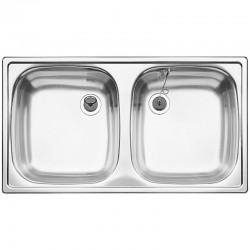 Мивка за кухня от стомана – модел Blanco TOP ED 8X4