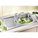 Мивка за кухня от стомана – модел Blanco FLEX MINI ЛЕН