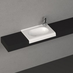 Мивка за баня овална Sentimenti – за вграждане в плот – модел на Isvea (Италия)