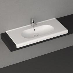 Мивка за баня екстра размер Sentimenti – за вграждане в плот – Isvea (Италия)