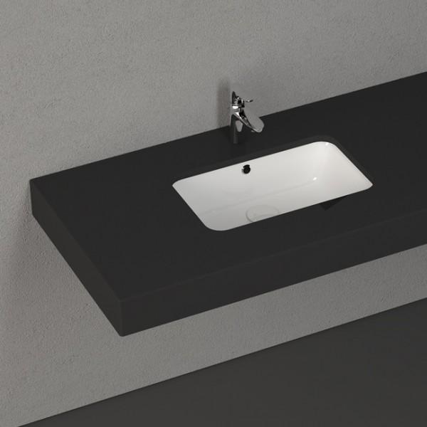 Умивалник за баня Soluzione – пълно вграждане в плот – Isvea (Италия)