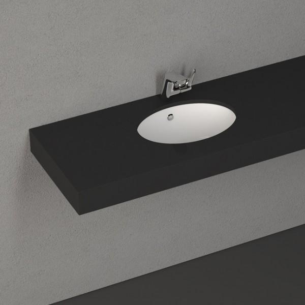 Мивка за баня – пълно вграждане в плот – Soluzione на Isvea (Италия)