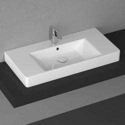 Голяма мивка за плот монтаж PURITA на Isvea (It)