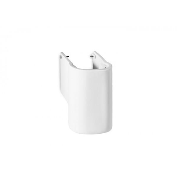 Бяла полуконзола от порцелан/ Колекция Meridian