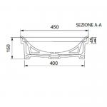 Умивалник 9004 в бяло на Scarabeo / Колекция мивки MIZU