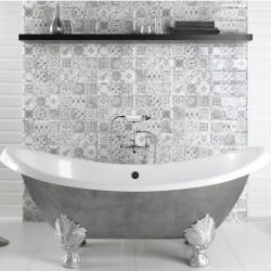 Antique Gris - серия сиви плочки за кухня или баня