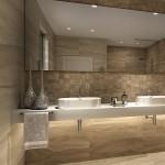 Cathay – колекция плочки за баня ефект дърво