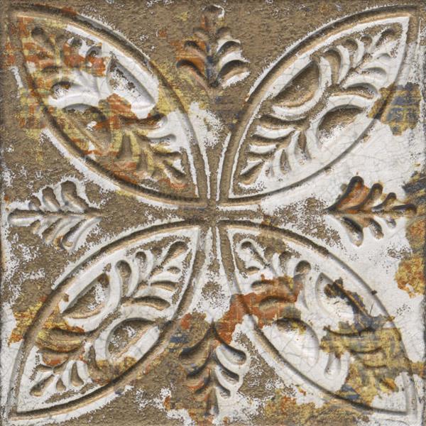 Aged Dark Ornato – тъмни декорни стенни плочки контрарелеф