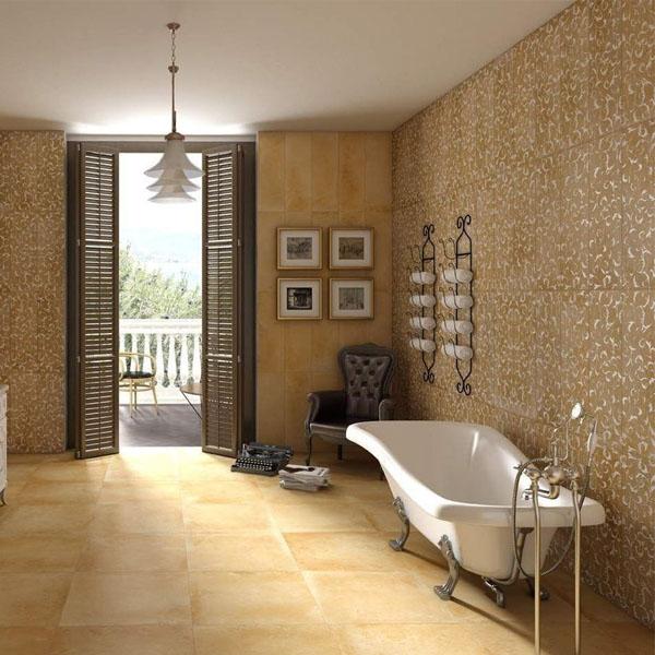 Kera – колекция испански плочки за баня ефект теракота